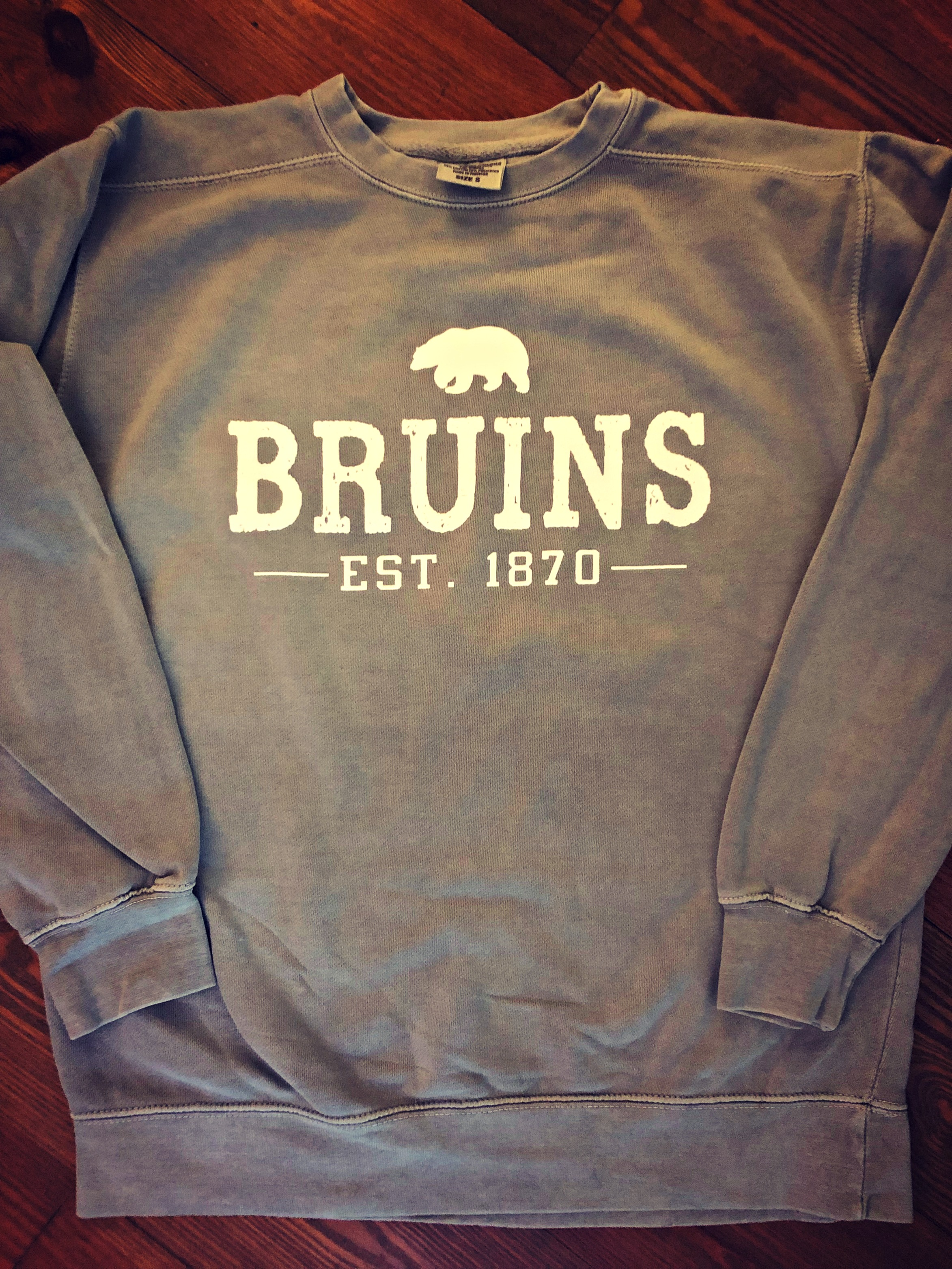 Comfort Colors Gray Sweatshirt
