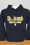 SJ Navy Hooded Sweatshirt
