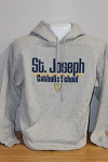 SJ Grey Hooded Sweatshirt