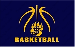 Bruin Basketball navy dri-fit crew neck tshirt--PRE-ORDER
