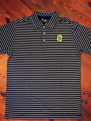 Pro Celebrity Striped Polo